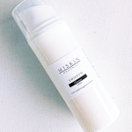100 ml cleanser in white airless pump